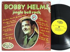 Jingle Bell Rock Bobby Helms Mistletoe in-shrink Christmas LP #VinylRecords