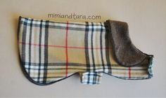 Dog coat burberry