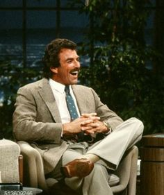 """Tom on """"The Tonight Show. Hollywood Actor, Golden Age Of Hollywood, Hollywood Stars, Men Are Men, Magnum Pi, Tom Selleck, Men's Toms, Blue Bloods, Moustaches"""