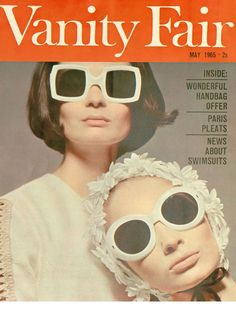 c1e1cdc09070b Oliver Goldsmith sunglasses on Vanity Fair- 1965 Sixties Fashion