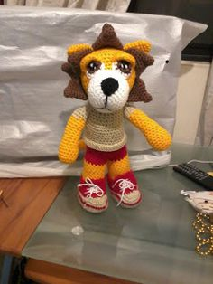 Amigurumi Stitch Calculator : 1000+ images about amigurumi lions and tigers on Pinterest ...