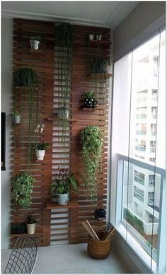 Balcony Garden 54406 Inspirational small balcony garden ideas for small apartment Apartementdecor. Garden Garden apartment Garden ideas Garden small GardenIdeas # for Small Balcony Decor, Small Balcony Garden, Small Balcony Design, Vertical Garden Design, Garden Landscape Design, Landscaping Design, Garden Landscaping, Rooftop Garden, Indoor Balcony