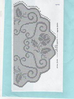 Crochet Curtain Pattern, Crochet Curtains, Crochet Doily Patterns, Curtain Patterns, Crochet Tablecloth, Weaving Patterns, Crochet Chart, Thread Crochet, Crochet Designs