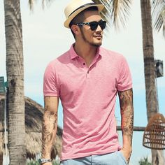 Camisa Polo Lincoln Camisa Polo, Polo Shirt, T Shirt, Photo S, Lincoln, Menswear, Poses, Mens Tops, Outfits