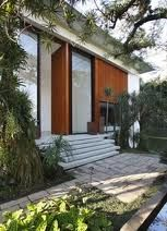 front entrance door - oversized with pivoting hinge