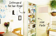 DIY: Seitenwand für IVAR – Nur noch - Side wall for IVAR - IKEA hack