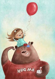 Papa bear by Susan Batori, via Behance❤ Children's Book Illustration, Character Illustration, Bear Art, Whimsical Art, Cute Drawings, Cute Art, Bunt, Character Design, Images