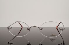 My beloved original Lunor Classic Oval glasses in AS. Steve Jobs had these in Classic Round.