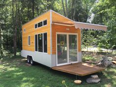 A unique, off-grid tiny house tiny house available for sale in Nashville, Tennessee.