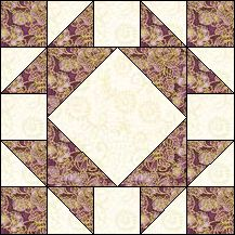 Block of Day for April 26, 2016 - Five Patch Frame