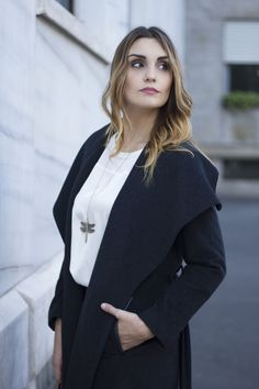 Grey Coat, December #outfit