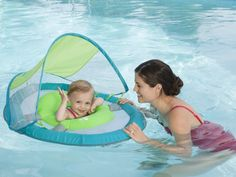 Baby Pool Spring Float Sun Canopy