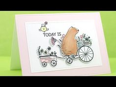 DEMO - Happy Day Stamp Set (271105) & Matching Die (310130) - YouTube