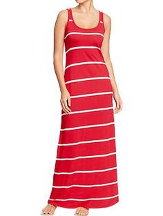 Women's Jersey-Tank Maxi Dresses | Old Navy