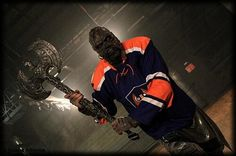 """Just another normal Finnish fan of Tappara (""""battle axe"""", Finnish ice hockey team)"""