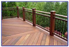 Rod Iron Deck Railing