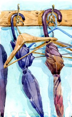 7 posts published by Shari Blaukopf during February 2012 Umbrella Painting, Umbrella Art, Still Life Drawing, Painting Still Life, Easy Watercolor, Watercolor Paintings, Oil Paintings, Rain Art, Summer Painting