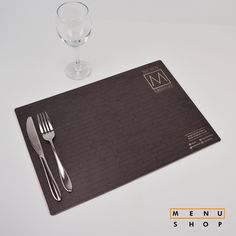 Completely #bespoke #placemat for a #grill #restaurant #hospitality