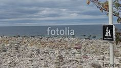 """Download the royalty-free photo """"Do not build stone towers, Öland, Sweden"""" created by Ciaobucarest at the lowest price on Fotolia.com. Browse our cheap image bank online to find the perfect stock photo for your marketing projects!"""