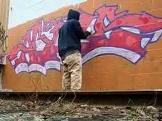 due tipi di graffito
