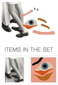 """EYE"" by madeliefjulia ❤ liked on Polyvore featuring art"