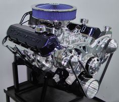 454 Big Block Chevy Turn-Key Crate Engine With 550 HP