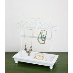 Aeropostale Jewelry Stand With Tray (19 CAD) ❤ Liked On Polyvore Featuring  Home,