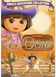 Cowgirl Dora Awesome PAR Cowgirl DoraAwesome PAR Cowgirl Dora Butterbean's Cafe (dvd) Disney Manga: Kilala Princess Volume 3 Disney Manga: Kilala Princess Volume 4 By Tokyopop Dora Cartoon, Dora Games, Pony Express, Pirate Adventure, English Games, Abc Alphabet, Dora The Explorer, Guys And Girls