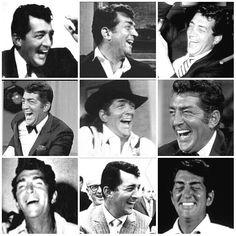 Dean Martin laughing