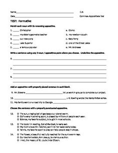 Direct Address  Comma Rule Worksheet  Worksheets Sentences And