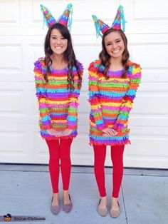 Playful Pinatas | 32 Amazing DIY Costumes That Prove Halloween Is Actually Meant For Teens