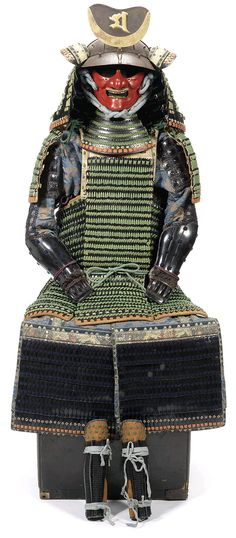 Semaki Kabuto - Hime Yoroi (princess armour). Late Edo Period, 19th century The semaki armour, considered an extremely rare discovery of an unusual female armour, auctioned at Bonhams, Nov 6th 2012. Caused a bit of a stir and made news in a few papers. More details on the source link