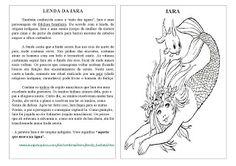 VARAL DE ATIVIDADES: FOLCLORE: Lendas