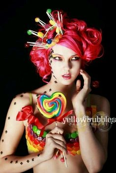 Circus candy girl