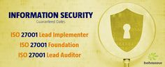 #InformationSecurity Training & Certification. Register Online! ISO 27001 Lead Implementer: 13 - 17 October #ISO27001 Foundation: 20 - 21 October ISO 27001 Lead Auditor: 20 - 24 october