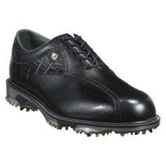 SALE - Mens FootJoy 53652 Golf Cleats Black Leather - Was $149.99 - SAVE $60.00. BUY Now - ONLY $89.97 Golf Cleats, Footjoy Golf, Buy Now, Black Leather, Sports, Men, Hs Sports, Guys, Sport