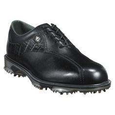 SALE - Mens FootJoy 53652 Golf Cleats Black Leather - Was $149.99 - SAVE $60.00. BUY Now - ONLY $89.97