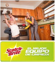Tienes en casa al Mejor Equipo de Limpieza, reúne a tu familia para terminar mas rápido las labores del hogar y diviértete.