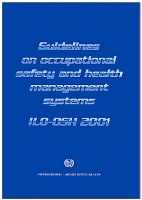 Standar ILO-OSH 2001 Occupational Safety and Health Management Systems (PDF Online Download)