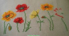 Mini Floral Sampler – Southern Daisy Sewing and Threads - frieda Stitch Crochet, Peyote Stitch, Crochet Stitches, Cross Stitching, Cross Stitch Embroidery, Cross Stitch Patterns, Cross Stitch Rose, Cross Stitch Flowers, Neuer Job