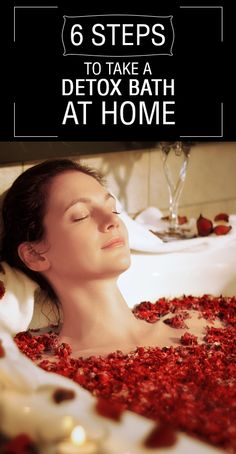 6 Simple Steps To Take A Detox Bath At Home