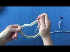 Tejer en circular – guía rápida - YouTube Knitting Stitches, Lana, Knit Crochet, Womens Fashion, Videos, Youtube, Circular Weaving, Weaving Techniques, Knitting