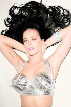 Katy Perry - I freaking love this Hershey's Kisses bra!!!!!