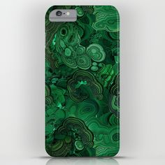 I love malachite everything. Here's a iPhone case - iPhone 6S Plus size