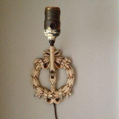 Vintage Ornate Wall Light Sconce, Decorative Light Sconce on Etsy, $40.00