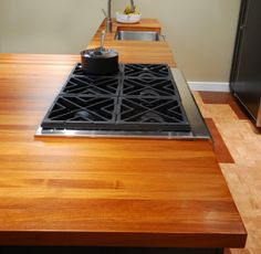 Our Heirloom Wooden Countertops Are Water And Heat Resistant!