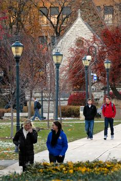 Central Mall at Marquette University.