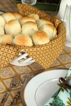 Homemade Dinner Rolls Recipe // girl.inspired.