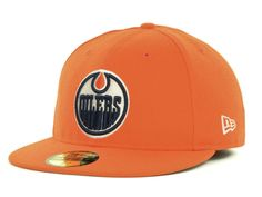 44addd2cd85 Edmonton Oilers New Era NHL Basic 59FIFTY Cap