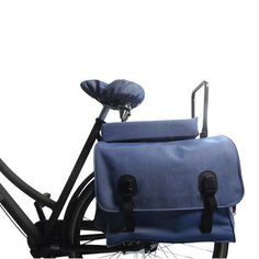b7b98cea4b0eb Coussin bleu Hooodie Big pour porte bagage de vélo